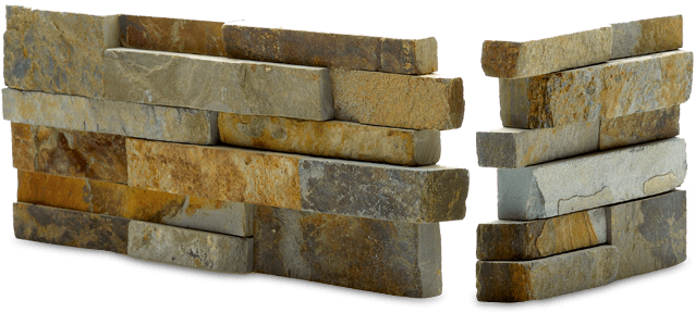 stacked stone panel surface shop