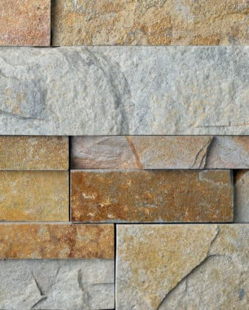 Aztec XL Stacked Stone Panel Sandstone