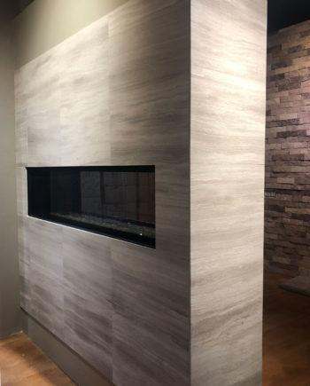 Silva Classic Contemporary Stone Fireplace